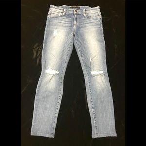 Joe's jeans, Trisha distressed skinny jeans😍